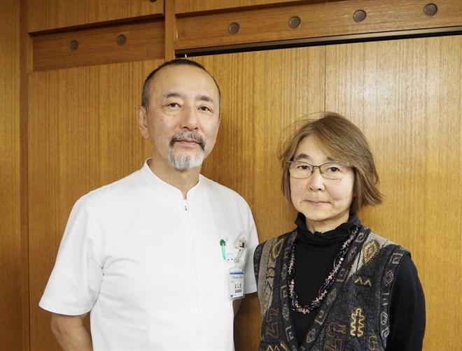 (左)吉田秀明氏 北海道社会事業協会理事長、同会 余市協会病院院長、(右)武井弥生氏 「地域医療国際支援センター」ディレクター